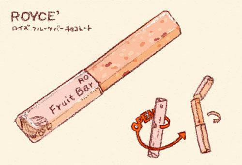 ロイズ・フルーツバーチョコレート
