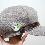 キャスケット帽アゴヒゲ